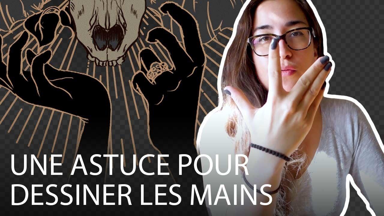 Aperçu Vidéo - Une astuce pour dessiner les mains