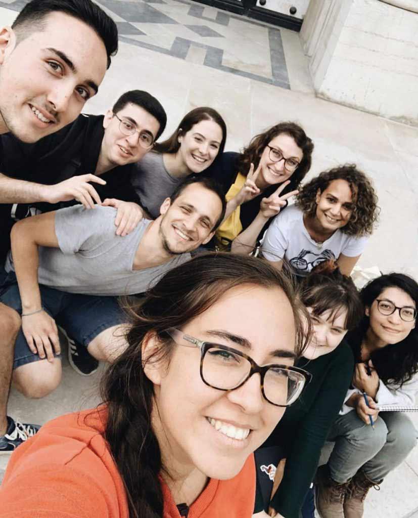 """Scendre et les élèves de la formation """"Apprendre Le Dessin d'Observation"""" au Petit Palais à Paris"""