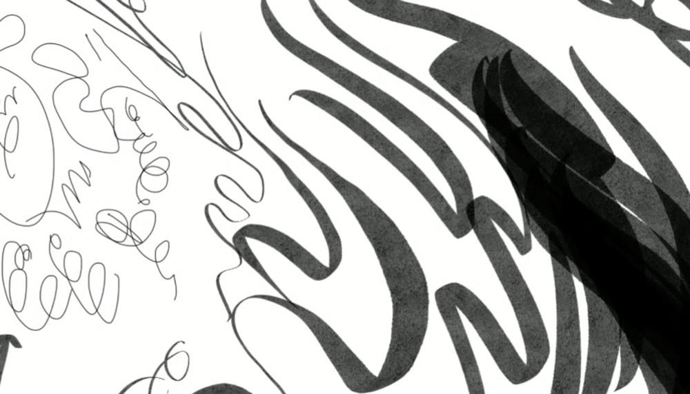 Utilisez plusieurs types de stylos à encrage pour changer de style.