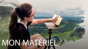 materiel pour peindre en plein air
